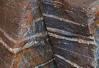 Striated Rocks, North Cascades National Park, Washington, US