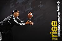 SAN ANTONIO, TX - JANUARY 2, 2013: The 2013 Army All-American Bowl Player's Lounge. (Photo by Jeff Huehn)