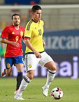 Colombia's James Rodriguez during international friendly match. June 7,2017.(ALTERPHOTOS/Acero) (NortePhoto.com) (NortePhoto.com)