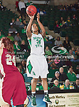 North Texas Mean Green guard Tamara Torru (34) in action during the game between the Denver Pioneer Women and the University of North Texas Mean Green at the North Texas Coliseum,the Super Pit, in Denton, Texas. Denver defeats UNT 50 to 44...