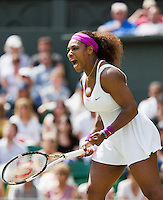 30-06-12, England, London, Tennis , Wimbledon, Serena Williams