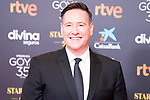 Carlos Latre attends the red carpet previous to Goya Awards 2021 Gala in Malaga . March 06, 2021. (Alterphotos/Francis González)