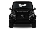 Car photography straight front view of a 2019 Mercedes Benz G-Class G-550 5 Door SUV Front View