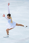 Carolina Kostner of Italy compete in the Figure Skating Team Ice Dance Short Program during the 2014 Sochi Olympic Winter Games at Iceberg Skating Palace on February 8, 2014 in Sochi, Russia. Photo by Victor Fraile / Power Sport Images