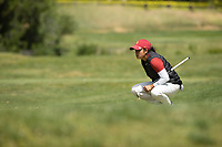 STANFORD, CA - APRIL 24: Alyaa Abdulghany at Stanford Golf Course on April 24, 2021 in Stanford, California.