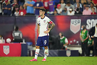 NASHVILLE, TN - SEPTEMBER 5: Christian Pulisic #10 of the USMNT during a game between Canada and USMNT at Nissan Stadium on September 5, 2021 in Nashville, Tennessee.