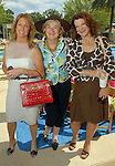 Mary Eads, Joan Pratka and Katy Rossi at the River Oaks International Tennis Tournament Luncheon at the River Oaks Country Club Wednesday April 16,2008. (Dave Rossman/For the Chronicle)