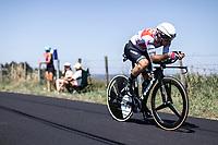 Julien Bernard (FRA/Trek Segafredo) <br /> <br /> Stage 13: ITT - Pau to Pau (27.2km)<br /> 106th Tour de France 2019 (2.UWT)<br /> <br /> ©kramon