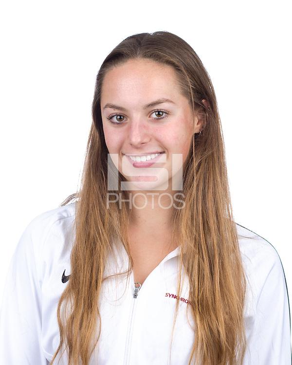 Stanford, CA - November 7, 2019: Hailee Heinrich Athlete Headshot.