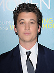 Miles Teller attends That Awkward Moment Premiere held at The Premiere House at Regal Cinemas L.A. Live in Los Angeles, California on January 27,2014                                                                               © 2014 Hollywood Press Agency