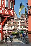 Deutschland, Rheinland-Pfalz, Moseltal, Bernkastel-Kues: Stadtteil Bernkastel, der Marktplatz | Germany, Rhineland-Palatinate, Moselle Valley, Bernkastel-Kues: districct Bernkastel, market square