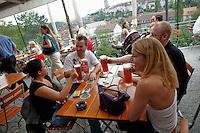 Altes Tramdepot bar and restaurant, Bern, Switzerland, 26 August 2011