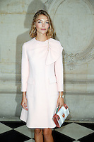 Paris, France September 27 : Arizona Muse attends the Christian Dior Ready To Wear Spring/Summer 2017 show as part of Paris Fashion Week on September 27; 2016 in Paris, France. # FASHION WEEK - PEOPLE AU DEFILE DIOR.