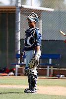 Martin Maldonado - Milwaukee Brewers - 2009 spring training.Photo by:  Bill Mitchell/Four Seam Images