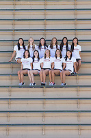 Stanford, California - October 2, 2014:  Stanford Synchronized Swimming portraits and Team photo.