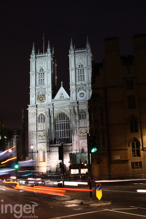 Westminster Cathedral at Night, United Kingdom