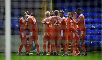 Blackpool's Gary Madine, second in from left, celebrates scoring his side's second goal with team-mate James Husband<br /> <br /> Photographer Chris Vaughan/CameraSport<br /> <br /> The EFL Sky Bet League One - Peterborough United v Blackpool - Saturday 21st November 2020 - London Road Stadium - Peterborough<br /> <br /> World Copyright © 2020 CameraSport. All rights reserved. 43 Linden Ave. Countesthorpe. Leicester. England. LE8 5PG - Tel: +44 (0) 116 277 4147 - admin@camerasport.com - www.camerasport.com