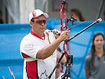 Kevin Evans, Toronto 2015 - Para Archery // Paratir a l'arc.<br /> Highlights from the Para Archery events // Faits saillants des événements de paratir à l'arc.<br /> 10/08/2015.
