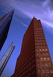 Europe, DEU, Germany, Berlin, Potsdamer Place, Modern Architecture, Skyscraper.....[ For each utilisation of my images my General Terms and Conditions are mandatory. Usage only against use message and proof. Download of my General Terms and Conditions under http://www.image-box.com or ask for sending. A clearance before usage is necessary...Material is subject to royalties. Each utilisation of my images is subject to a fee in accordance to the present valid MFM-List...Contact | archive@image-box.com | www.image-box.com ]