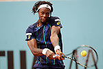 Gael Monfils, France, during Madrid Open Tennis 2016 match.May, 4, 2016.(ALTERPHOTOS/Acero)