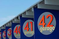 Daytona garages.