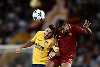 20170912 ROMA-CALCIO: UEFA CHAMPIONS LEAGUE, LA ROMA PAREGGIA IN CASA CON L'ATLETICO MADRID