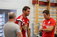 Pictured: Angel Rangel. Thursday 03 July 2014<br />