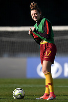 Camilla Labate looks reacts prior to the second half of the Women Italy cup round of 8 second leg match between AS Roma and Roma Calcio Femminile at stadio delle tre fontane, Roma, February 20, 2019 <br /> Foto Andrea Staccioli / Insidefoto