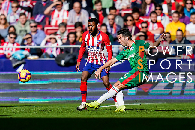 Jonathan Rodriguez Menendez, Jony, of Deportivo Alaves in action during the La Liga 2018-19 match between Atletico de Madrid and Deportivo Alaves at Wanda Metropolitano on December 08 2018 in Madrid, Spain. Photo by Diego Souto / Power Sport Images
