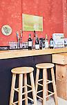 Wine b ar in Wine Shop.  Ristic