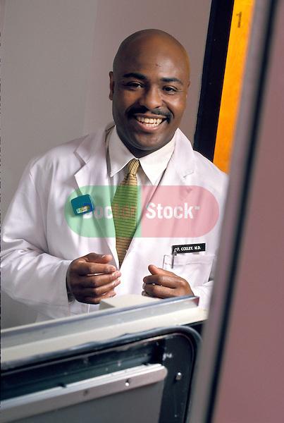 portrait of African American radiologist