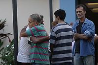 RIO DE JANEIRO, RJ, 03.06.2019: VELÓRIO-RIO - Luisinho Lemos foi cremado as 13 horas desta segunda-feira (03) no cemitério vertical Memorial do Carmo no Caju, depois de ter um infarto na semanha passada quando dirigia o América-RJ. Luisinho Lemos (Luisinho Tombo) ídolo e maior artilheiro do América também teve passagem como jogador pelo Flamengo e Botafogo. (Foto: Celso Barbosa/Código19)