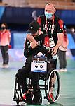 Iulian Ciobanu, Tokyo 2020 - Boccia.<br /> Iulian Ciobanu competes in Mixed Individual - BC4 Preliminaries Pool D // Iulian Ciobanu participe à mixte individuelle - BC4 Préliminaires groupe D. 08/30/2021.