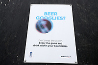 Beer Googlies signage ahead of Essex Eagles vs Sussex Sharks, Royal London One-Day Cup Cricket at The Cloudfm County Ground on 30th April 2019