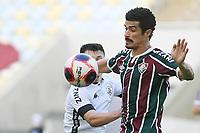 Rio de Janeiro (RJ), 17/04/2021 - Fluminense-Botafogo - Egidio jogador do Fluminense,durante partida contra o Botafogo,válida pela 10ª rodada da Taça Guanabara,realizada no Estádio Jornalista Mário Filho (Maracanã), na zona norte do Rio de Janeiro, neste sábado (17).