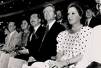 1989 FILE PHOTO - ARCHIVES -<br /> <br /> Well-known faces: Ex-premier Bill Davis; above; Toronto Mayor Art Eggleton and wife Brenda; left; and Metro Chairman Alan Tonks; far left; attended the opening.
