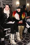 Lady Gaga attends the Pret-A-Porter Fall 2015 fashion show during  Fashion Gallery New York Fashion Week Fall 2015.