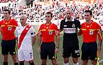 Madrid (03/03/2012).-Campo de Futbol de Vallecas..Liga BBVA..Rayo Vallecano-Real Racing Club....©Alex Cid-Fuentes.......