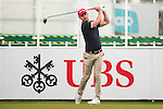 Paul Waring of England tees off the first hole during the 58th UBS Hong Kong Open as part of the European Tour on 08 December 2016, at the Hong Kong Golf Club, Fanling, Hong Kong, China. Photo by Marcio Rodrigo Machado / Power Sport Images