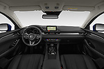 Stock photo of straight dashboard view of 2019 Mazda Mazda6 Skycrusie 5 Door Wagon Dashboard