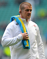 Graham Rowntree, England Forwards Coach, before the QBE Autumn International match between England and New Zealand at Twickenham on Saturday 16th November 2013 (Photo by Rob Munro)