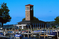 The historic bell tower on Chautauqua Lake, 07-3700. Chautauqua New York United States Chautauqua Institute.