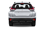 Straight rear view of 2021 Mitsubishi Eclipse-Cross Invite 5 Door SUV Rear View  stock images