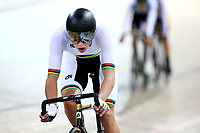 Laurence Pithie competes in the U19 Men Elite Omnium Points Race 20km during the 2020 Vantage Elite and U19 Track Cycling National Championships at the Avantidrome in Cambridge, New Zealand on Friday, 24 January 2020. ( Mandatory Photo Credit: Dianne Manson )