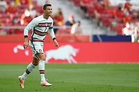 4th June 2021; Madrid, Spain International football friendly, Spain versus Portugal,  Cristiano Ronaldo of Portugal
