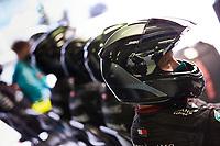 11th October 2020, Nuerburgring, Nuerburg, Germany; FIA Formula 1 Eifel Grand Prix, Race Day;  Mechanics of Mercedes-AMG Petronas Formula One Team
