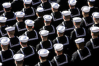 VP Cheney and Mrs. Lynne Cheney: Commissioning Ceremony of the USS George H.W. Bush CVN 77 Aircraft Carrier.  President George W. Bush, Mrs. Laura Bush, President George H.W. Bush and Mrs. Barbara Bush..Photos of Note (PON).PHOTOS OF NOTE.  .SCRAPBOOK.