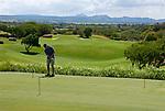 MUS, Mauritius, Poste de Flacq, Belle Mare Plage Resort: Golfplatz The Links - Putting Range   MUS, Mauritius, Poste de Flacq, Belle Mare Plage Resort: The Links Golf course - Putting Range