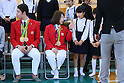 Japanese Olympians visit Kumamoto to support earthquake recovery