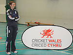 England Womans Captain Charlotte Edwards during the Q&A..Cowbridge Comprehensive School Girls Cricket Club with England Womans Captain Charlotte Edwards and Heather Knight - 16th April 2013 - Cricket Wales -  Cowbridge - Vale of Glamorgan..© www.sportingwales.com- PLEASE CREDIT IAN COOK